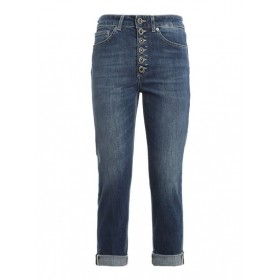 Women Dondup Fall Winter 20/21 koons gioiello jeans in blue New Look 2021 New VMIK948